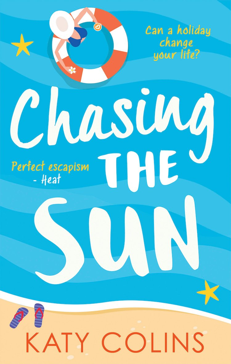 Chasing The Sun by author Katy Colins